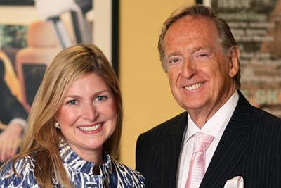 LEADERS IN LUXURY  Bill Fischer and Stacy Fischer-Rosenthal Fischer Travel
