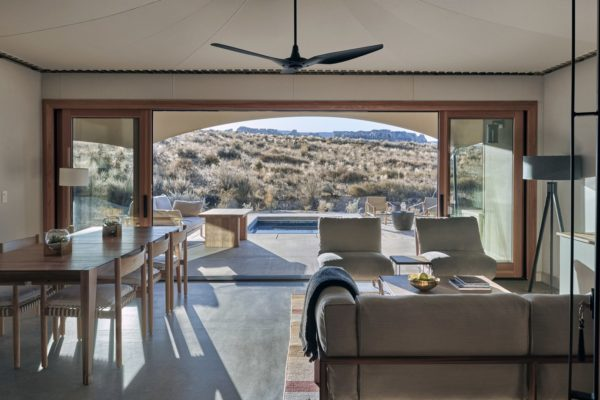 Fischer Travel - Luxury Travel - Amangiri Sarika Tents