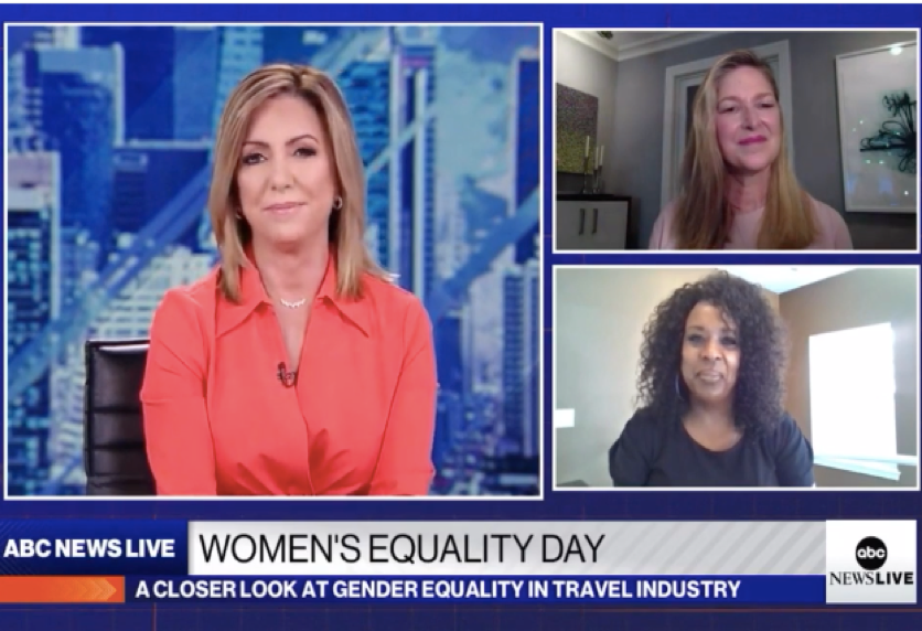 Stacy Fischer-Rosenthal speaks of Women's Equality in the Travel Industry with ABC News Live